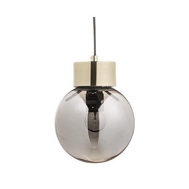 bloomingville pendel lampe guld m s lv glas. Black Bedroom Furniture Sets. Home Design Ideas