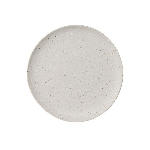 0139a3f4f60 Sandrine Tallerken, Hvid, ø22 cm - Bloomingville