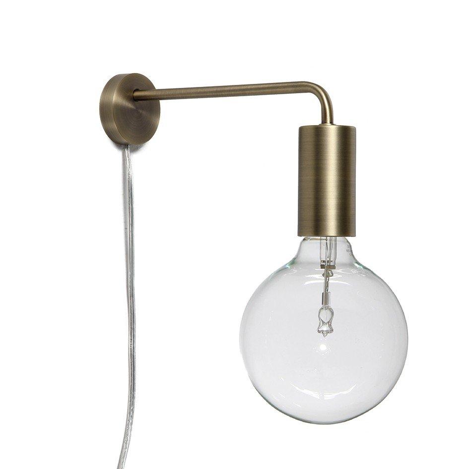 Cool Væglampe, Sort Frandsen Sanzliving.dk