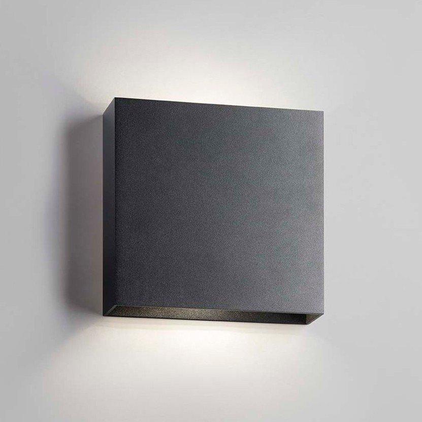 Light Point Compact W3 Sort, Udendørs Væglampe